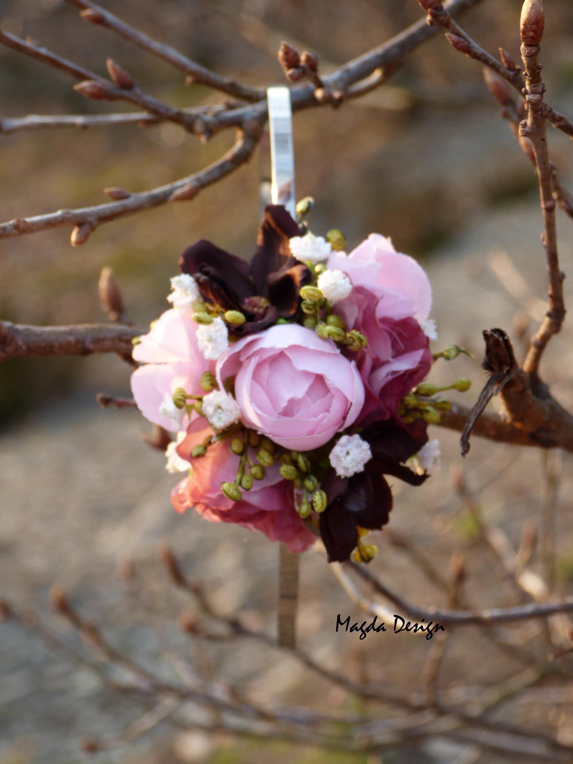 643d8c31b30 Květinová čelenka Braun end rose