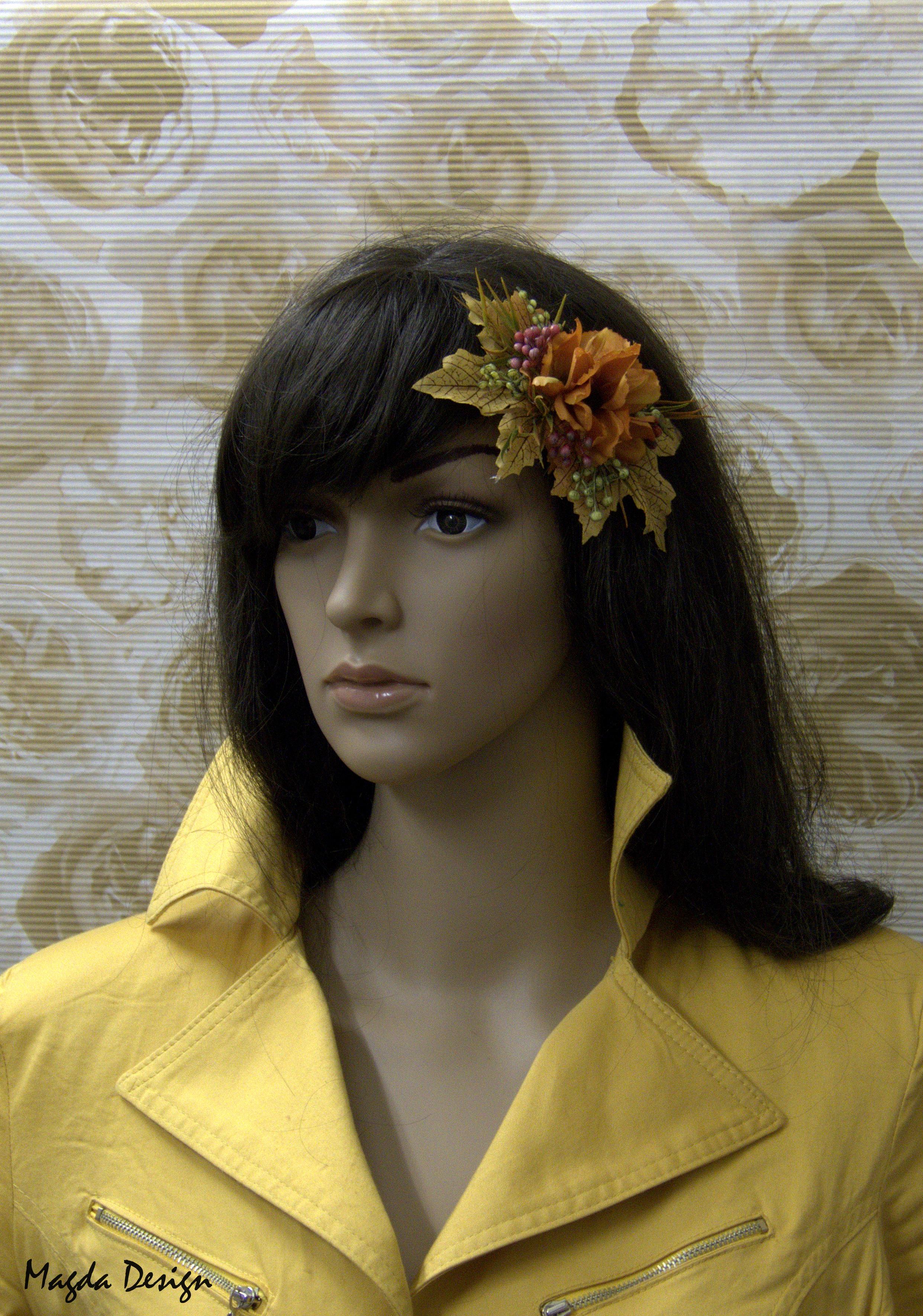 7dfb5af7c13 Vlasová ozdoba - Podzimní ladění